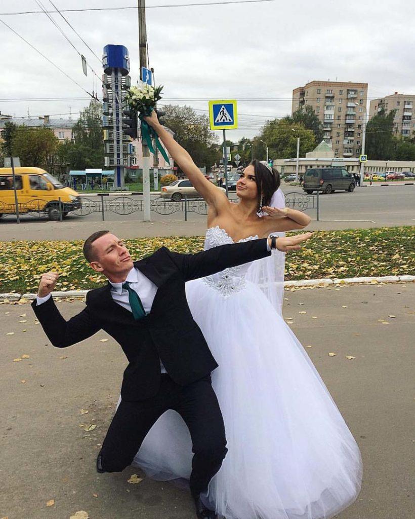 Никита Серов (Nikita Serov) с женой